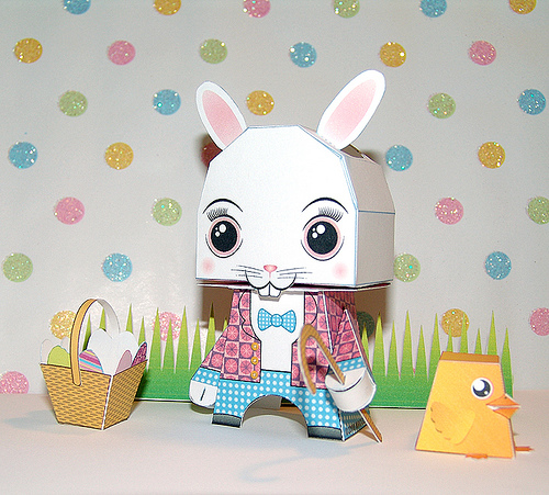 Toilet Paper Bunny Toy